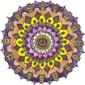 Медитация върху мандала